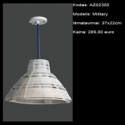 AZ02300 Military 37x22cm
