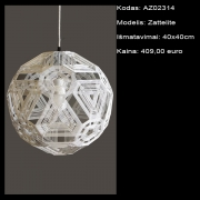 AZ02314 Zattelite 40x40cm