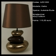 AZ01039 Keiko auksine-ruda 40x27x58cm