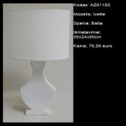 AZ01102 Ivette balta 35x24x50cm