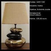 AZ01109 Keiko auksine-juoda 40x27x56cm
