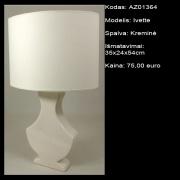 AZ01364 Ivette kremine 35x24x54cm