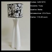 AZ01672 Tulip balta 27x72cm