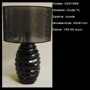 AZ01888 Onda TL juoda 45x61cm