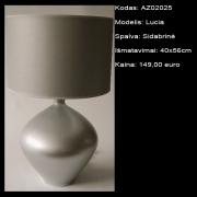 AZ02025 Lucia sidabrinė 40x56cm