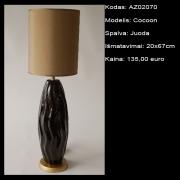 AZ02070 Cocoon juoda 20x67cm
