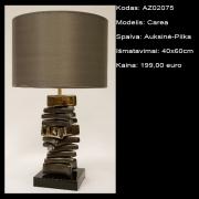 AZ02075 Carea auksine-pilka 40x60cm