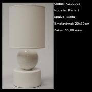 AZ02098 Perla 1 balta 20x39cm