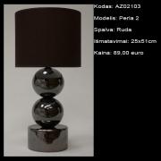 AZ02103 Perla 2 ruda 25x51cm
