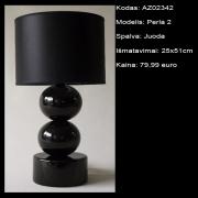 AZ02342 Perla 2 juoda 25x51cm
