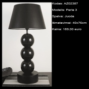 AZ02387 Perla 3 juoda 40x76cm