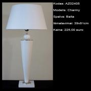 AZ02405 Charmy balta 39x81cm