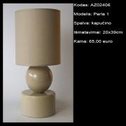 AZ02406 Perla 1 kapucino 20x39cm