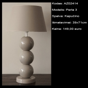 AZ02414 Perla 3 kapucino 39x71cm