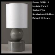 AZ02416 Perla pilka 20x39cm