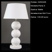 AZ02426 Perla 3 Balta 39x71cm
