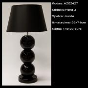 AZ02427 Perla 3 juoda 39x71cm