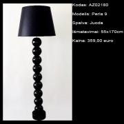 AZ02180 Perla 9 juoda 55x170cm