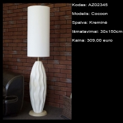 AZ02345 Cocoon kreminė 30x150cm